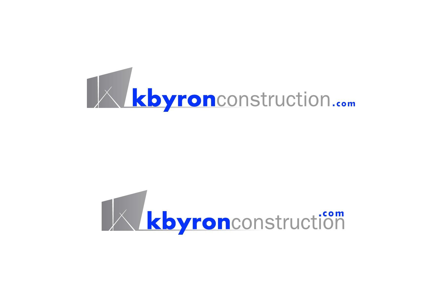 Help kbyronconstruction with a new logo