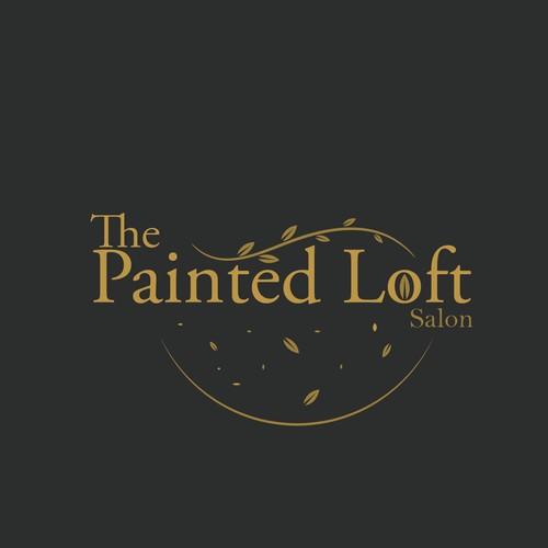 the painted loft logo