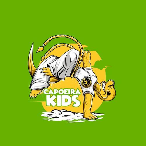 """Design T-Shirt For """"Capoeira Kids"""" :)"""