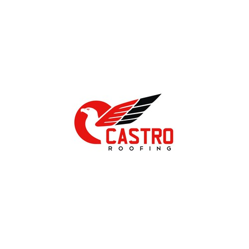 Logo - Create a communicative modern logo for a Castro Roofing's commercial division.