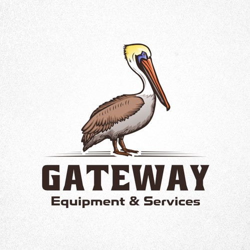 "Logo proposal for ""Gateway Equipment & Services""."