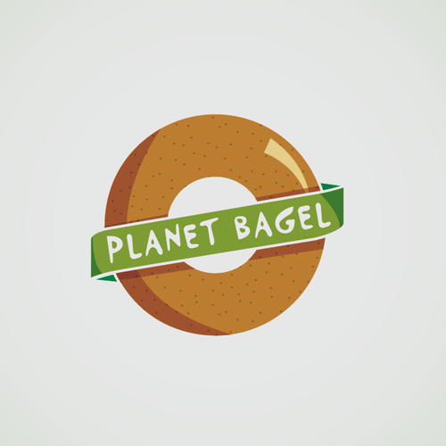 Create a fun, playful, and clever logo for an up and coming bagel sandwich business