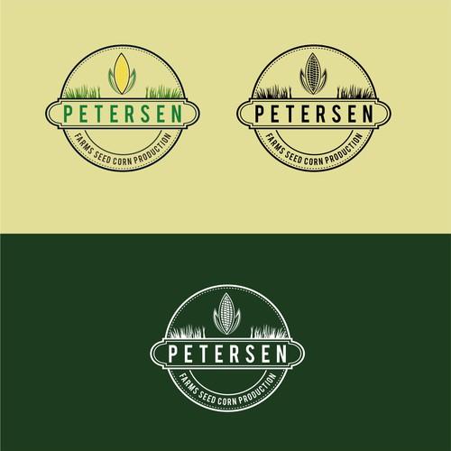 design a logo for a seed corn production family farm