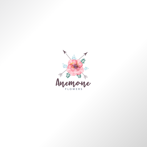 Logo for Anemone - Flowers shop