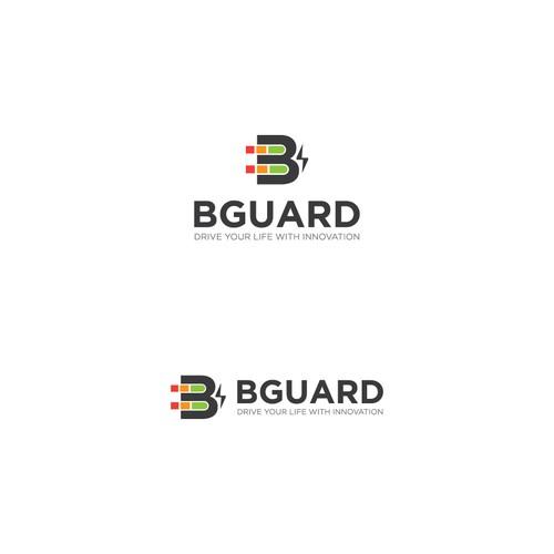 Bold logo for BGuard