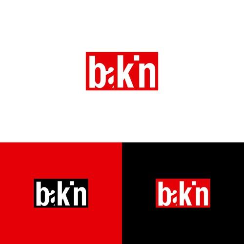 Logo Design for Bakin Streetwear Clothing