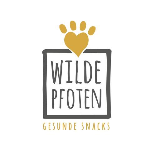 Logo für Hundesnacks WILDE PFOTEN