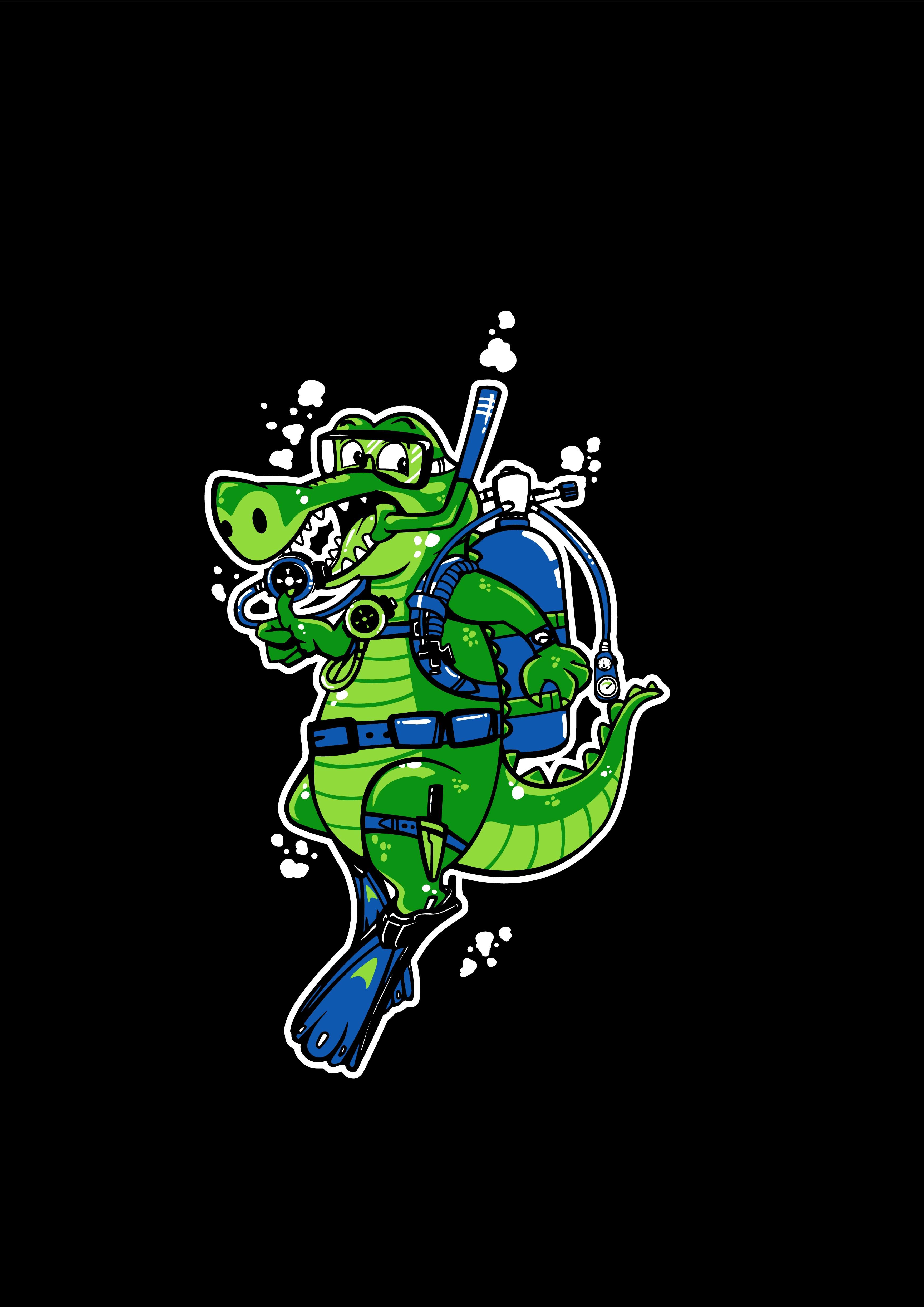 Design a Scuba Crocodile