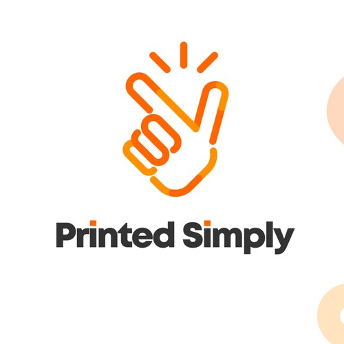 A Modern Logo For Printed Simply