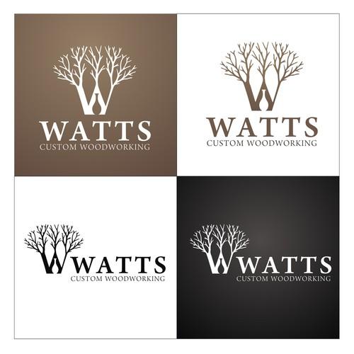 Watts Custom Woodworking needs a cutting edge tree-incorporated design