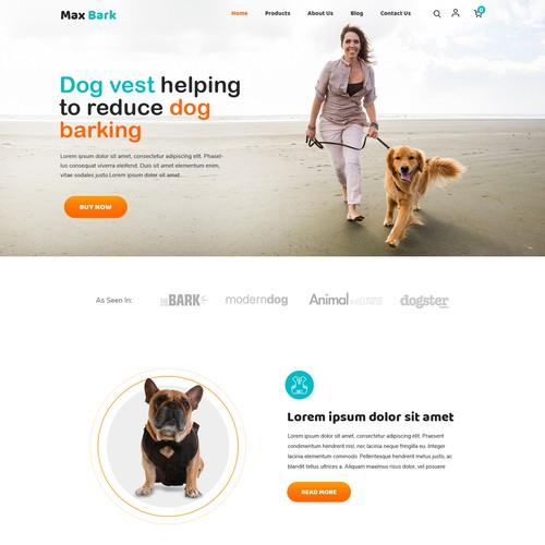 Webpage Design (e-commerce)