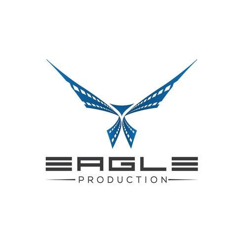 Eagle Production Logo & Business Card
