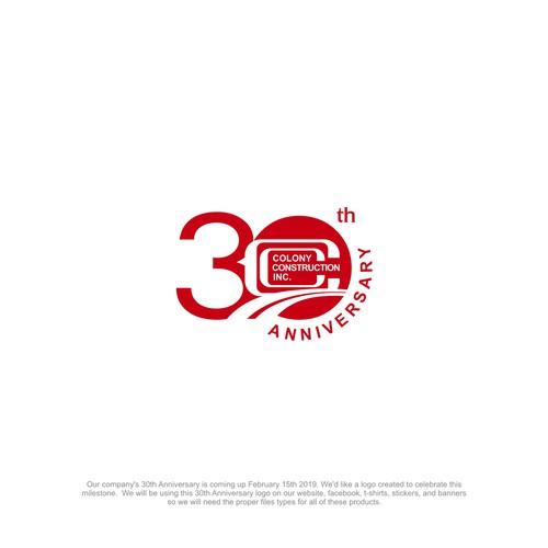Colony Construction Inc. 30th Anniversary