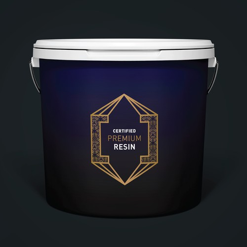 Label for resin