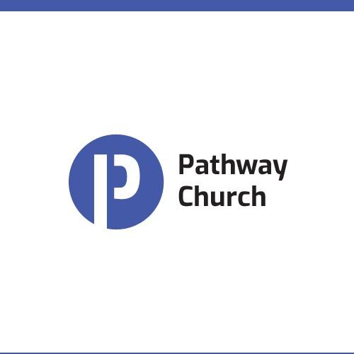 Logo for a modern church