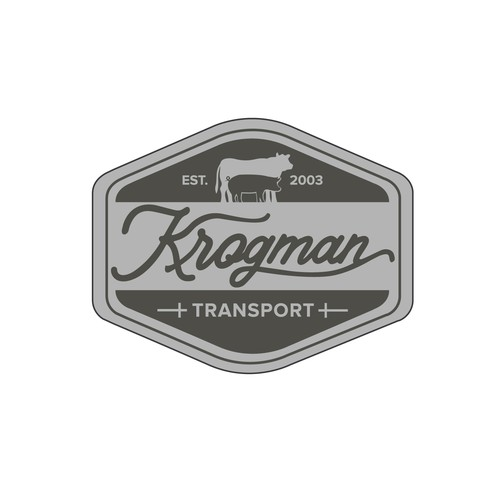 Winning design Krogman Transport