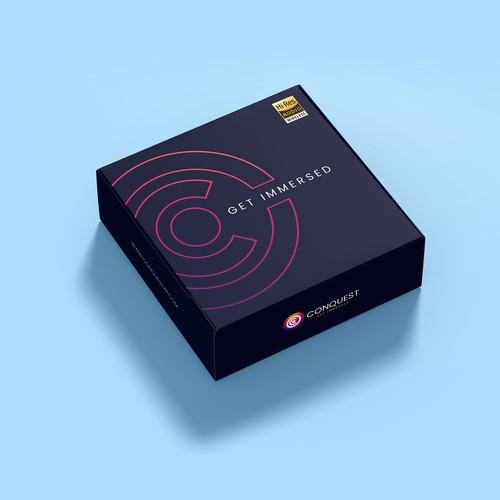 Virtual Reality Headphones Packaging