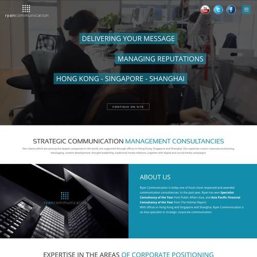 Webdesign Ryan Communication