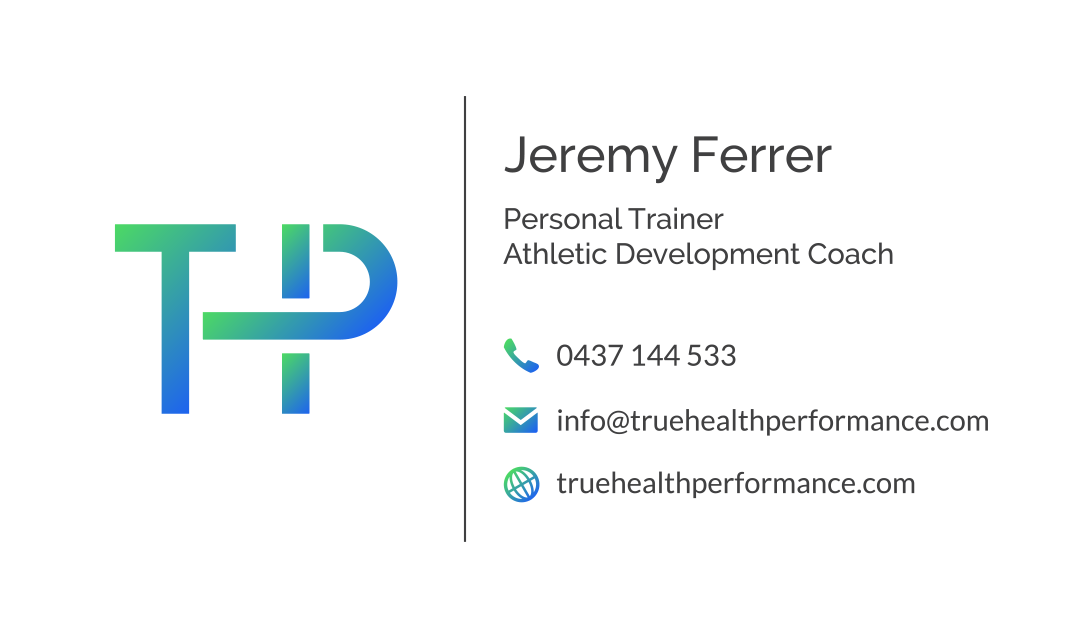 Logo for personal training company