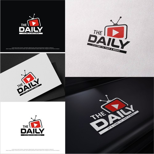 THE DAILY Logo for Youtube Videos