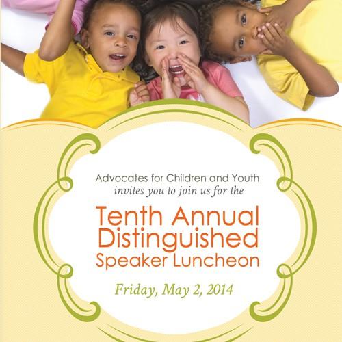 Help design invitation for fundraiser to help kids!