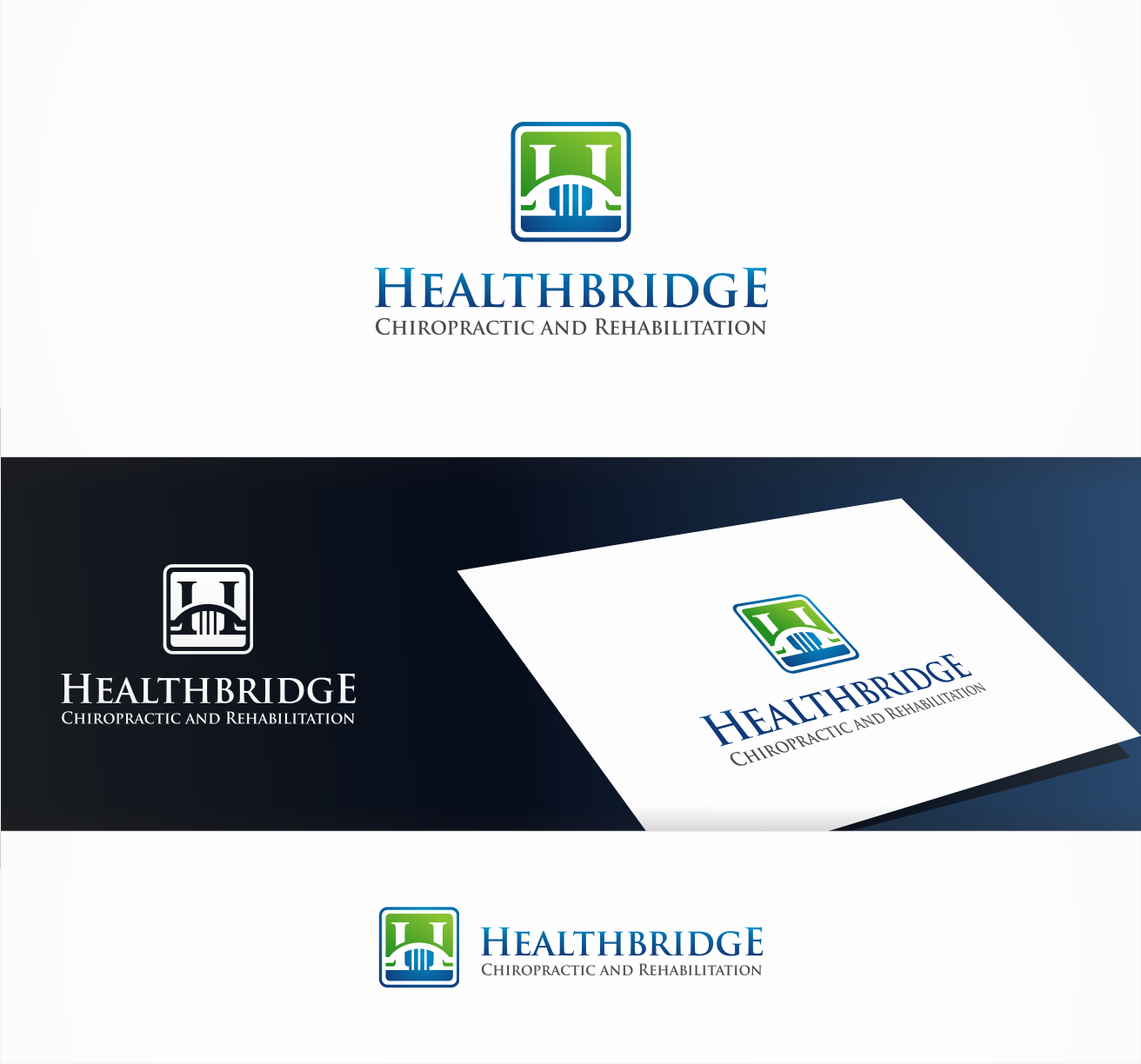 logo for Healthbridge Chiropractic and Rehabilitation