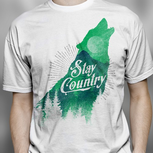 Vintage Country T SHIRT