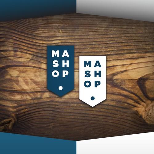 +mashop logo mock-up presentation
