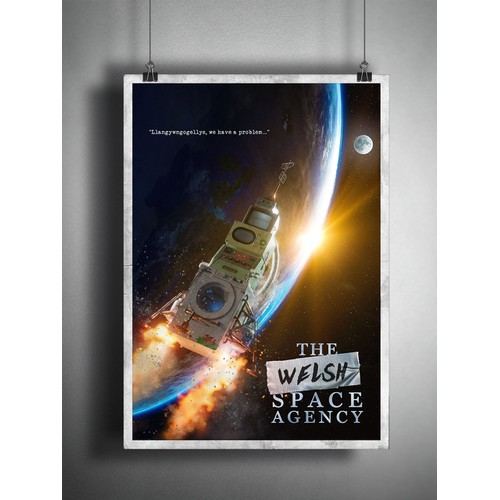 The Welsh Space Agency Poster