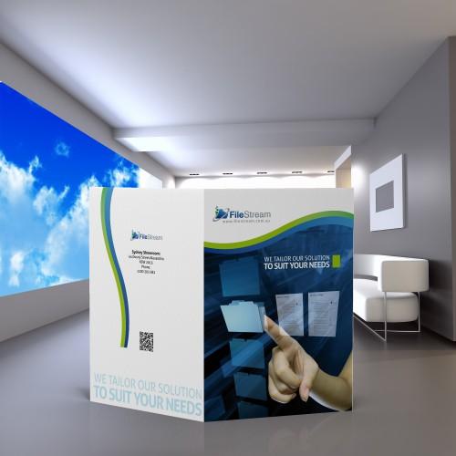 brochure design for FileStream Pty Ltd