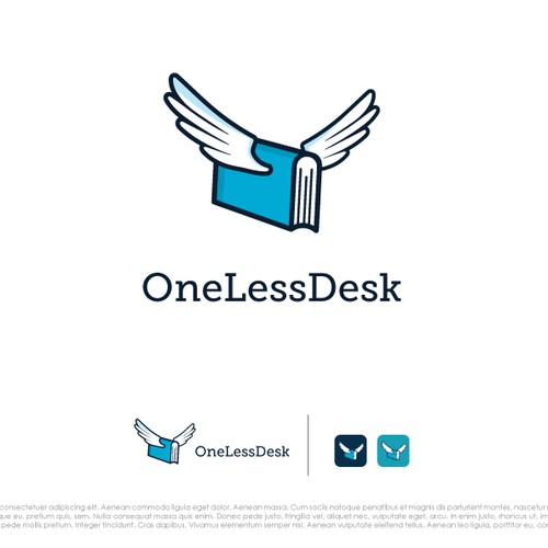 Create a logo for our beautifully simple bookkeeping service