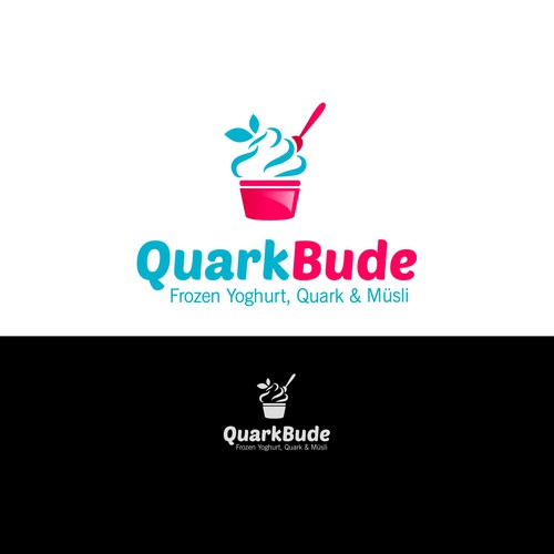 Logo for New Frozen Yogurt & Quark Concept