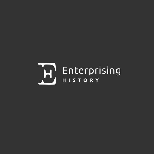"Logo for ""Enterprising History"""