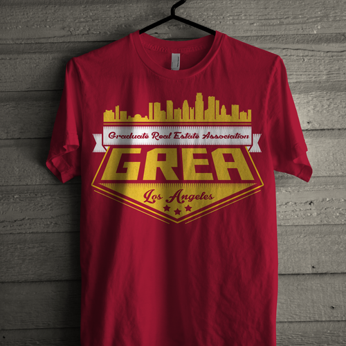 Shirt design for a university