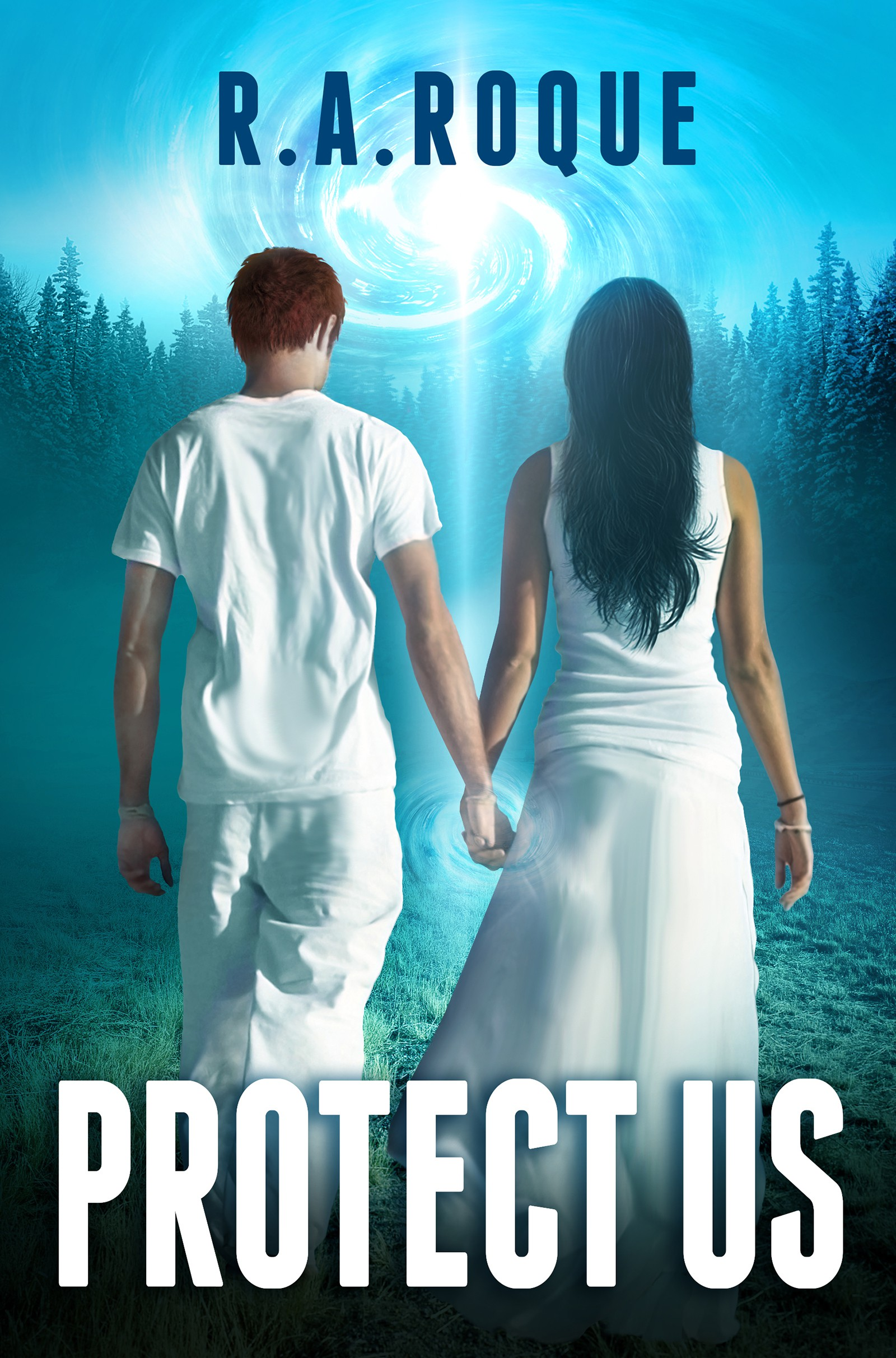 Book Cover - science fiction ROMANCE