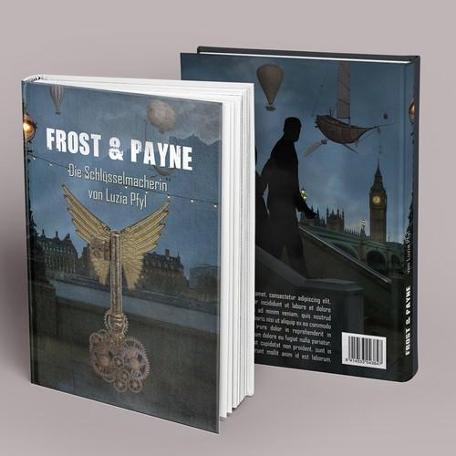 Fantasy novel cover book
