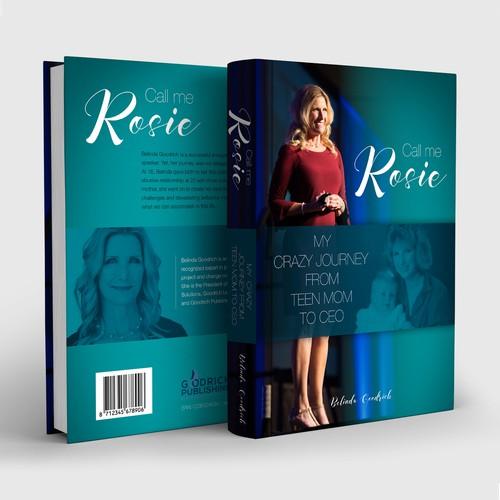 Book cover design 'Call me Rosie'