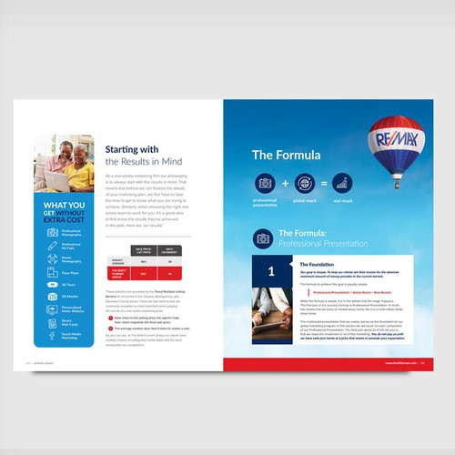 Corporate magazine design for BFG RE/MAX CLASSIC