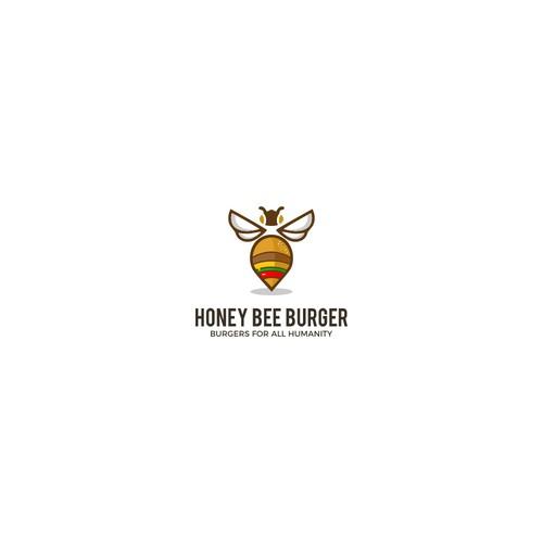 bold logo for burger