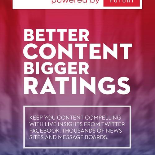 Poster Design for a Media company