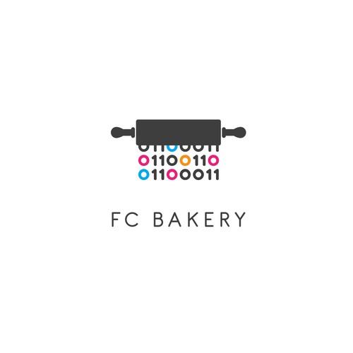 Logo for a tech-bakery