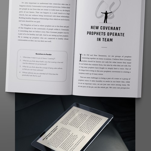 Book interior & ebook design