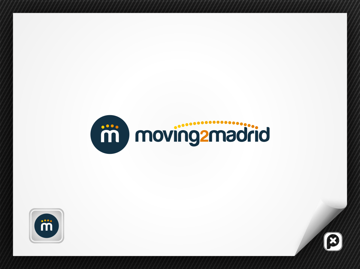Logo for Moving2Madrid - Blog & Relocation Services