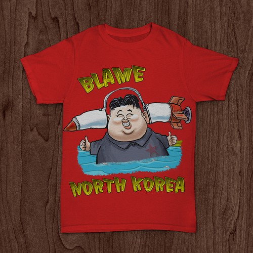 Blame North Korea T-Shirt