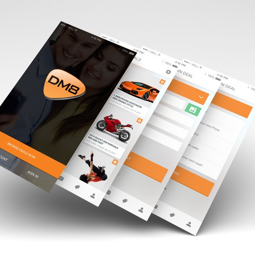 DM8 App Design