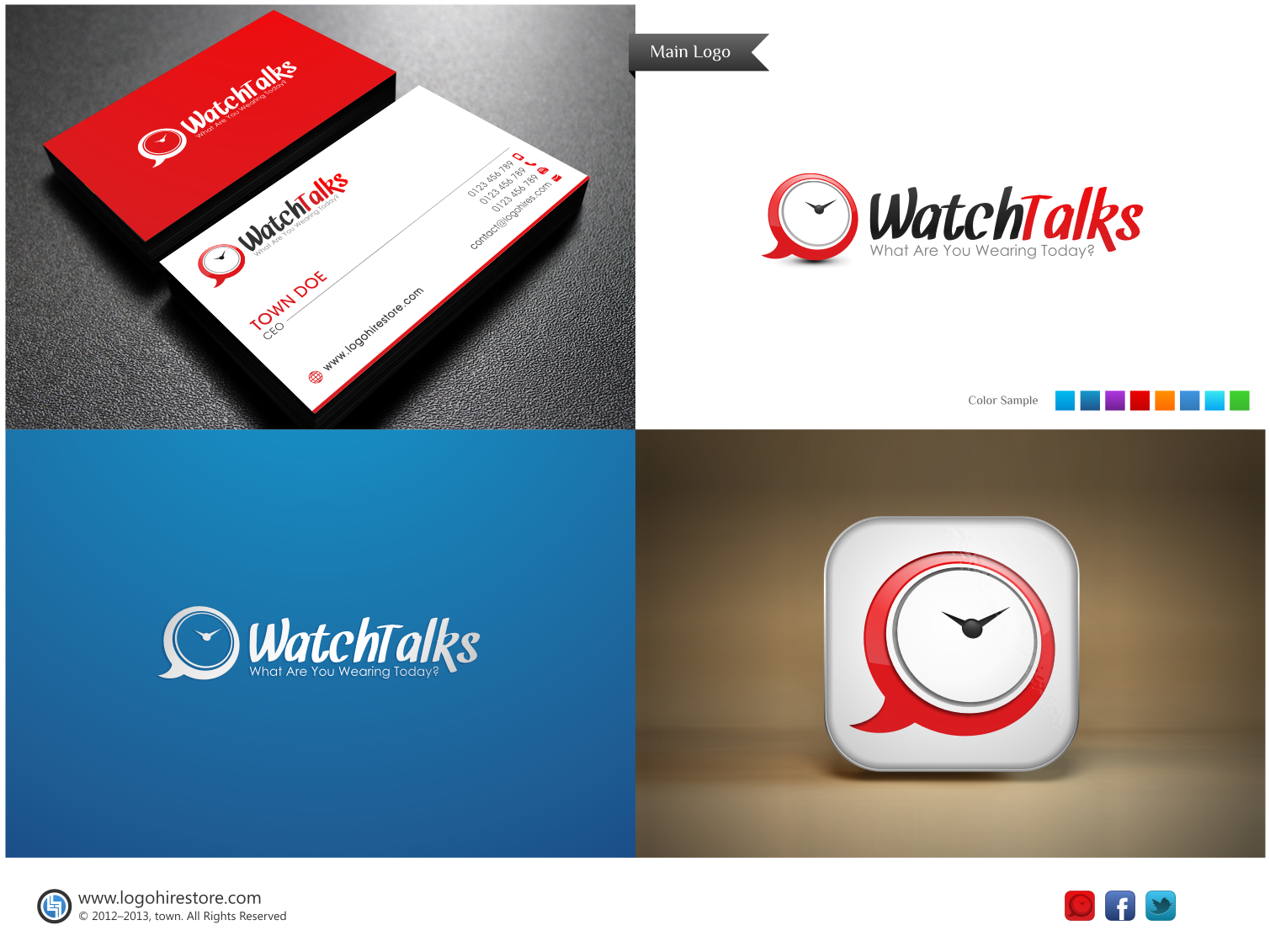 New logo wanted for Watch Talks