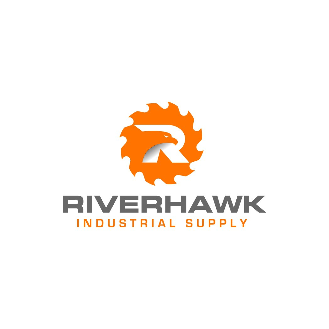Need strong logo for construction and tool supply company: Riverhawk Industrial Supply