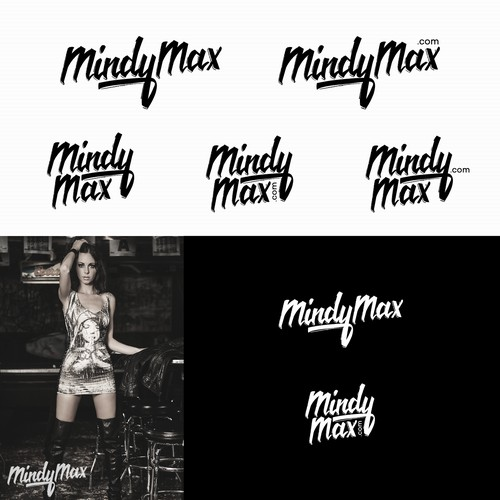 Fashion logo for MindyMax