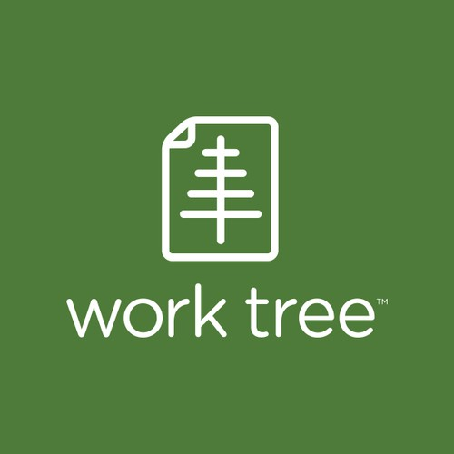 Create the next logo for work tree