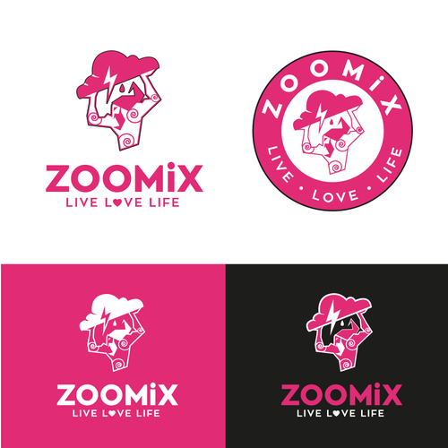 Zoomix Logo Design